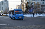 IVECO bus (number 9615106) on route 676 in Moscow, 25.01.2019.jpg