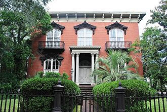 Johnny Mercer - The historic Mercer House in Savannah, Georgia.