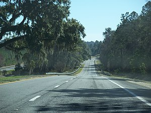 U.S. Route 319 - Image: Iamonia FL US 319 SR 61 south 01
