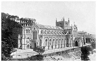 Cathedral of the Immaculate Conception (Hong Kong) - The cathedral in 1897.