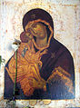 Icon of Madonna and Child and flowers (Dormition Church at Kondopoga).jpg
