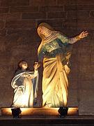Santa Ana con la Virgen.
