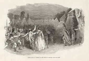 Illustrated London News - Giuseppe Verdi's Attila at Her Majesty's Theatre, London.png