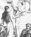 """Illustration by W. H. Hunt to poem """"The Beggar Maid"""" by A. Tennyson.tif"""