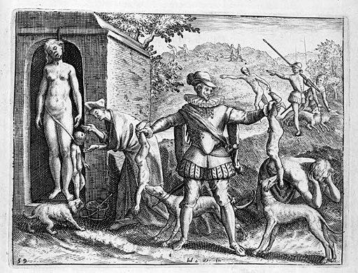 Illustrations de Narratio regionum Indicarum per Hispanos quosdam devastattarum — Jean Théodore de Bry — 14