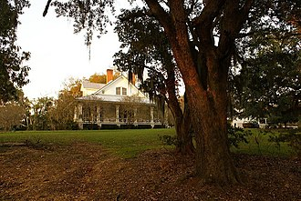 National Register of Historic Places listings in Claiborne County, Mississippi - Image: Image; Canemount Plantation house