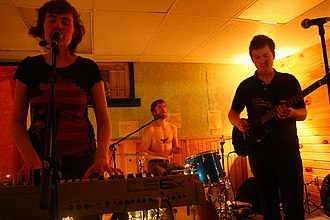 Immaculate Machine - Immaculate Machine performing in 2008