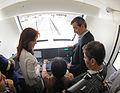 Inauguración primer tramo electrificado del Tren Roca 03.jpg