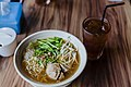 Indonesian bakso, with noodle and bean sprouts, April 2018 (02).jpg