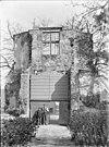 ingang van het kasteel (ruïne) - batenburg - 20028099 - rce