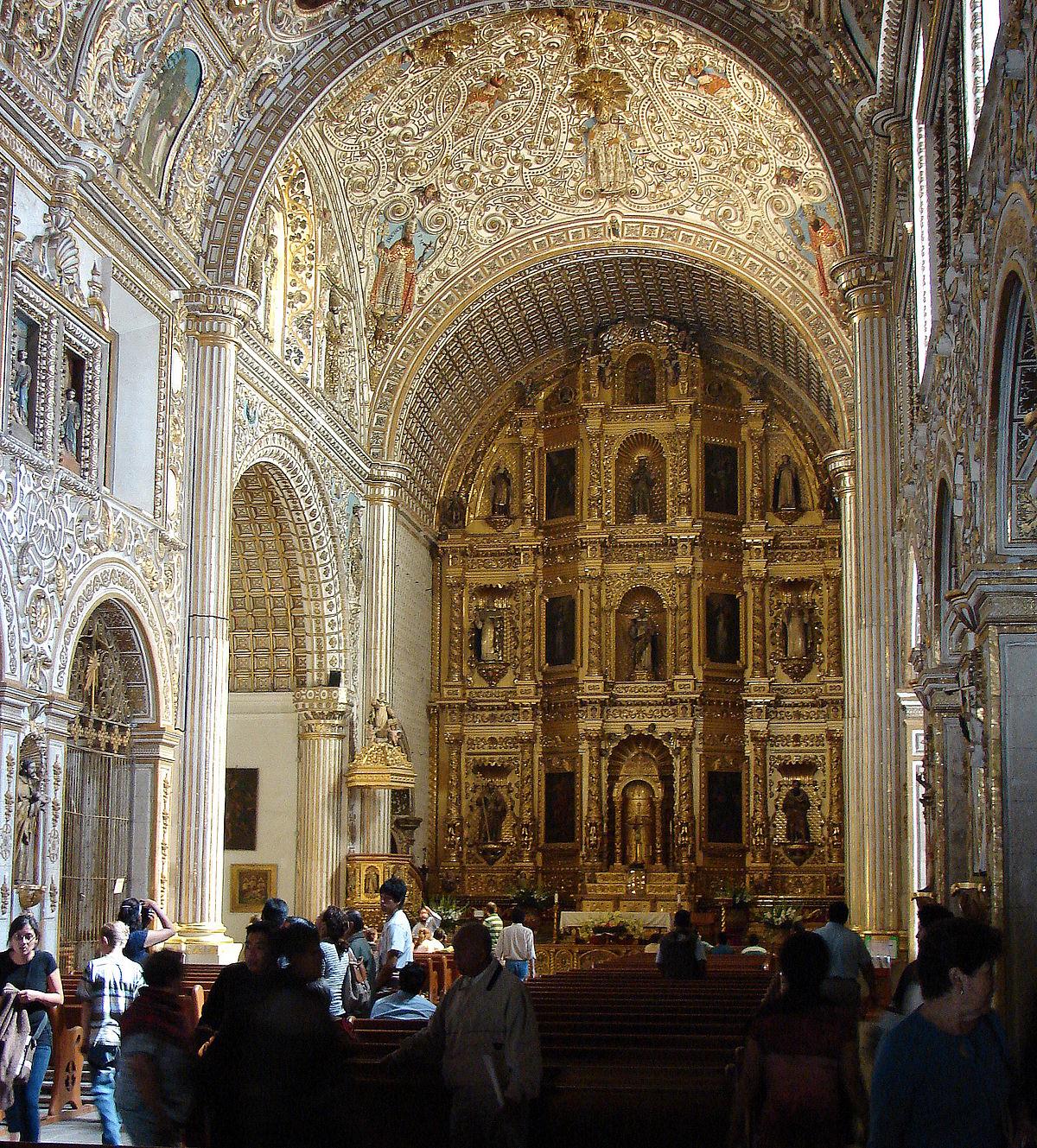 Arquitectura barroca en hispanoam rica wikipedia la for Arquitectura wikipedia