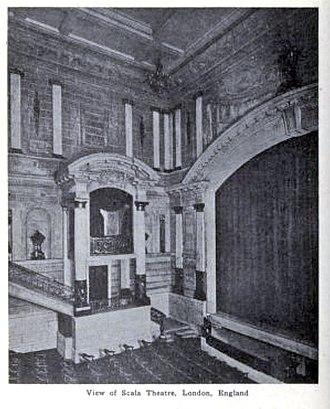 Scala Theatre - The Scala in 1917