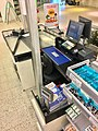 "Interior of ""Matkroken"" Supermarket grocery store in Leirvik, Stord, Norway 2018-03-10. Cashier checkout b.jpg"