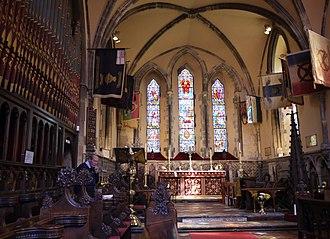 Domus Dei - The interior of the church
