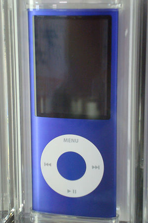 Purple4th-generation iPod Nano 8GB version on ...