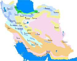 Geography of Iran - Wikipedia