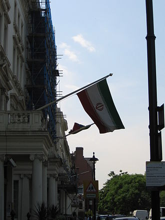 Iran–United Kingdom relations - The Iranian Embassy in London