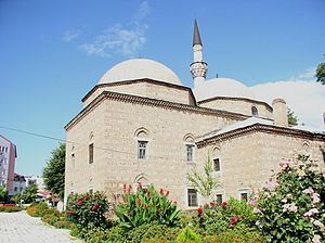 Macedonian Muslims - After falling under Ottoman rule, many mosques and other Islamic buildings, such as the Isa Bey Mosque, sprang up all over cities like Skopje