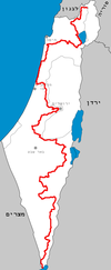 Israel National Trail Locator map.png