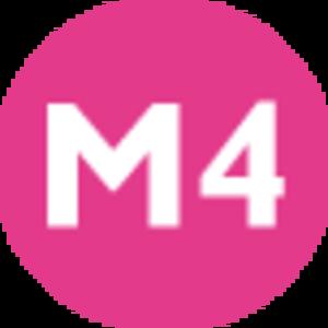 M4 (Istanbul Metro) - Image: Istanbul public transport M4 line symbol