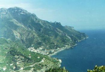 Amalfi, an important port during the Norman Ki...