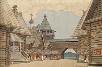 The Legend of the Invisible City of Kitezh and the Maiden Fevroniya - Little Kitezh