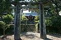 Iwakura Tenzan Shrine Torii and hall.jpg