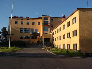 Folk high school - Christian Folk High School in Jämsä, Finland.