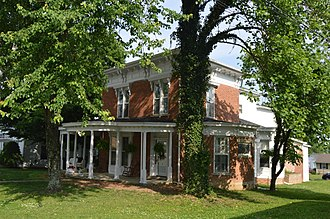 National Register of Historic Places listings in Bath County, Kentucky - Image: J.J. Nesbitt House