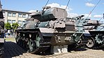 JGSDF Type 61 Tank(No.ST-0134) left rear view at Camp Itami October 8, 2017.jpg