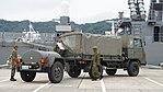JGSDF Type 73 Chugata Truck & 1t Water tank trailer(68-7600) right rear view at JMSDF Maizuru Naval Base July 29, 2017 02.jpg