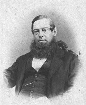 Johannes Brand - President J.H. Brand, c. 1864