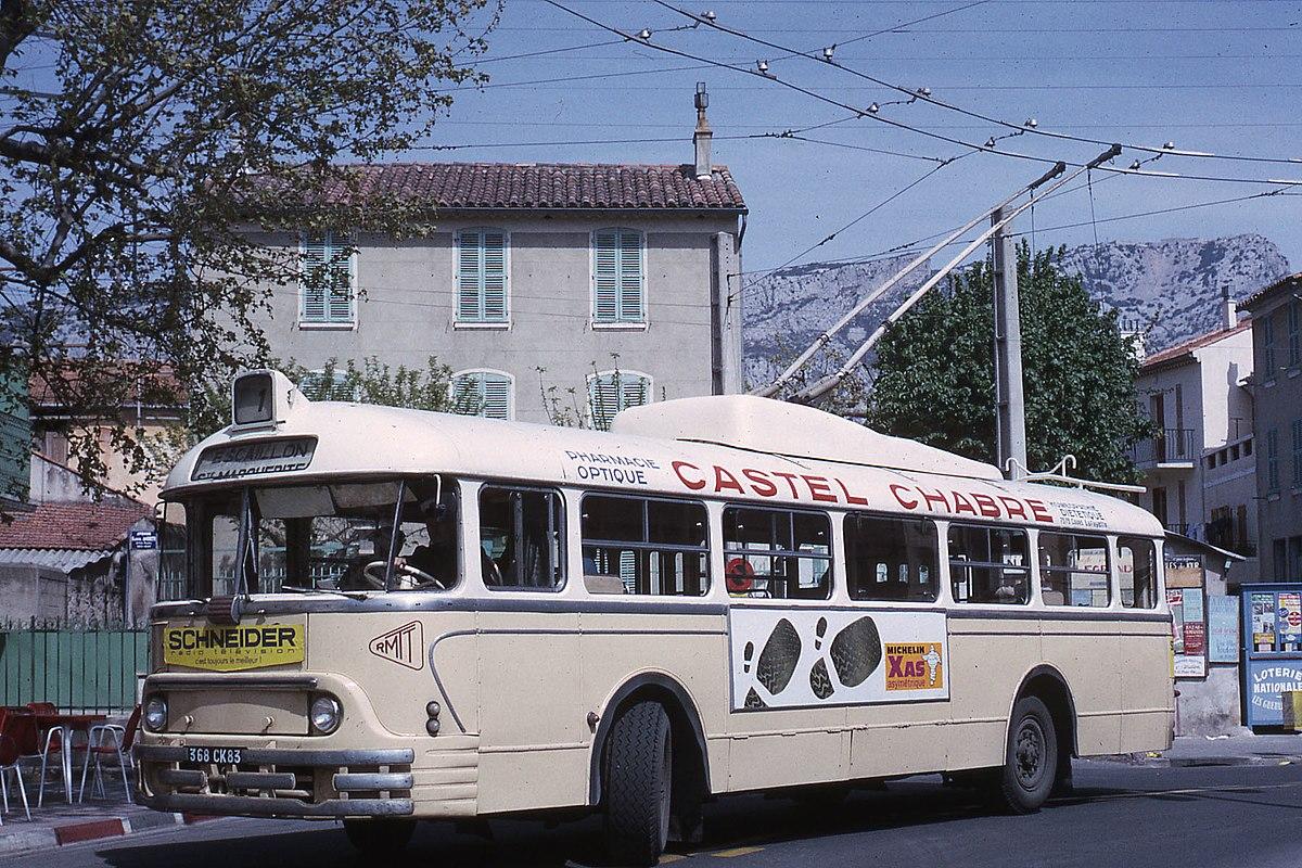 trolleybus de toulon � wikip233dia