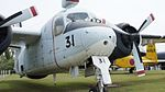 JMSDF S2F-1(4131) nose right front view at Kanoya Naval Air Base Museum April 29, 2017.jpg