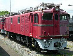 国鉄ED71形電気機関車