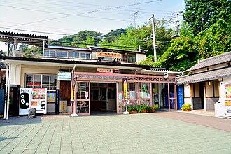Matsushima-Kaigan Station - Matsushima-Kaigan Station, October 2008