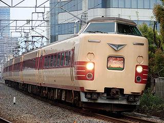 381 series Japanese train type