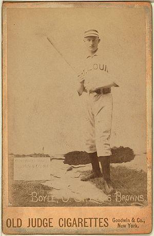 Jack Boyle - Image: Jack Boyle baseball card