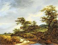Jacob van Ruisdael - Road in the Dunes - FHM.jpg