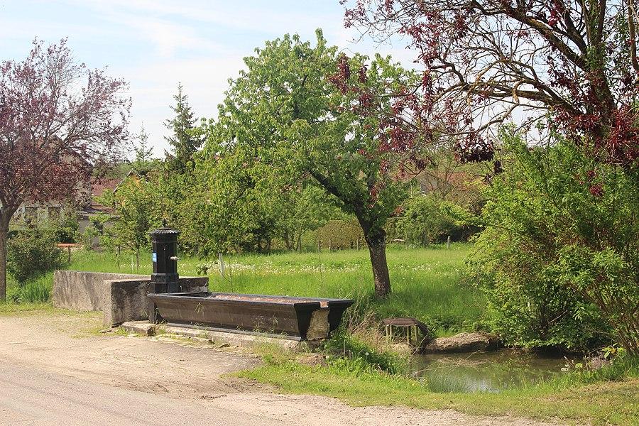 Jakobsweg by Niederkasseler   France - Brunnen Greux