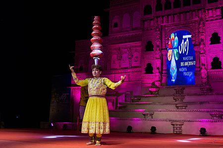 Traditional Malwa Dancer