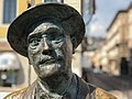 James Joyce memorial near the Canal Grande in Trieste, Italy.jpg