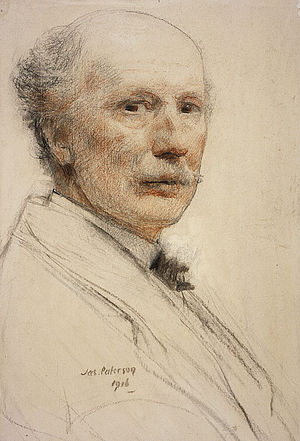 James Paterson (painter) - Self Portrait (1916), National Galleries of Scotland
