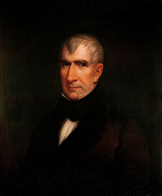 William Henry Harrison - Official White House portrait by James Reid Lambdin