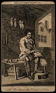 James Woodhouse (poet) English poet