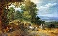 Jan Brueghel (I) - Heuvellandschap met figuren op een weg - Gal.-Nr. 890 - Staatliche Kunstsammlungen Dresden.jpg