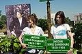 Jane Birkin, Charlotte Gainsbourg 1, Inauguration of Jardin Serge-Gainsbourg.jpg