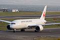 Japan Air Lines, JL60, Boeing 787-8 Dreamliner, JA821J, Departed to Los Angeles, Kansai Airport (16575012264).jpg