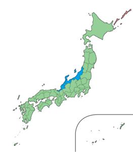 北陸地方's relation image