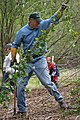 Jay Pulling Weeds at an Earthcrops Earth Day Event (4648167194).jpg
